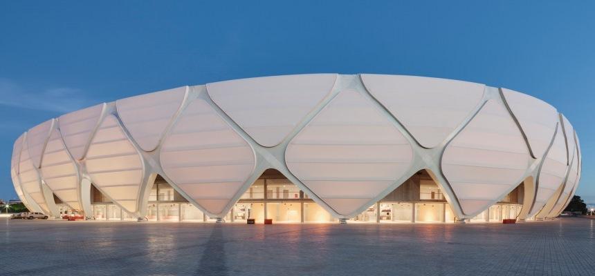 Tensile structure Arena da Amazonia